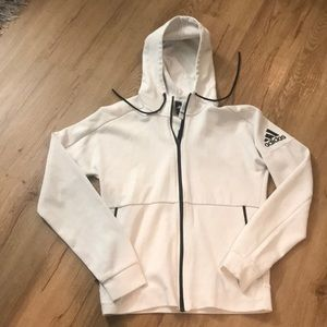 Adidas hoodie size small men's
